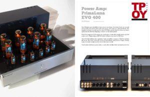 2019 - Tone Audio - PrimaLuna EVO 400 Preamplifier & Power Amplifier
